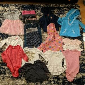 12 - 18 month winter baby girl lot! Priced to sell